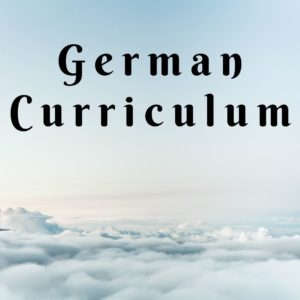 German Curriculum