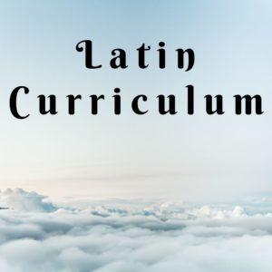 Latin Curriculum